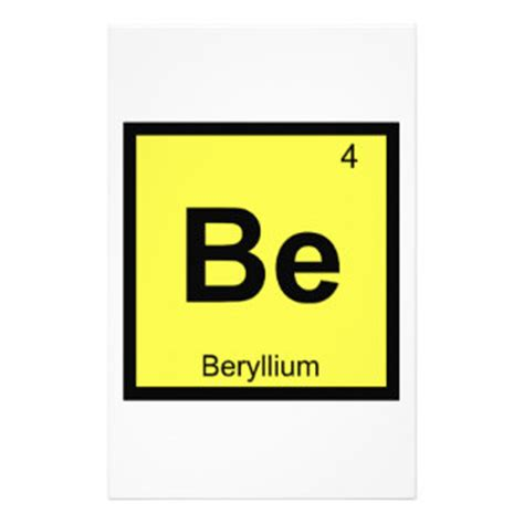beryllium gifts t shirts posters other gift