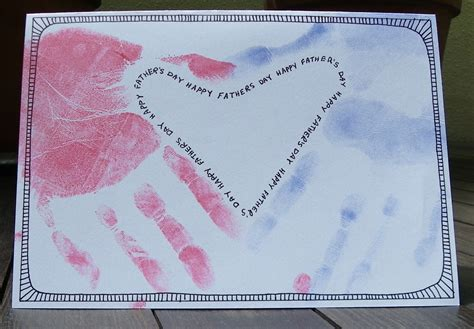 make s day card how to make a s day card using handprints craft