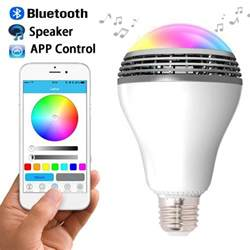 color changing headlights with app smart color led bluetooth speaker light bulb with mobile