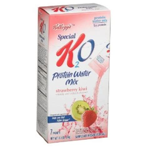 Special K2o Protein Water Lose 6 Lbs In 2 Weeks by Kelloggs Special K2o Strawberry Kiwi Protein Water Mix