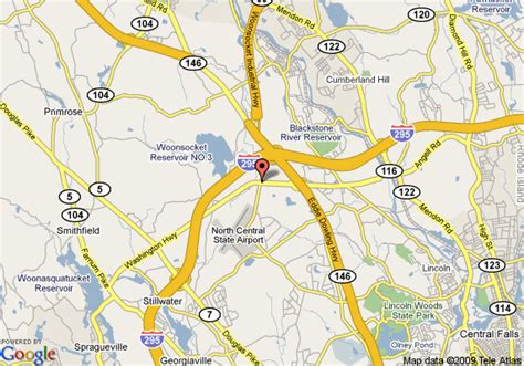 lincoln rhode island map map of courtyard by marriott providence lincoln lincoln