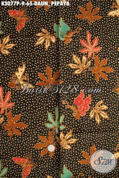 Kamen Batik Motif Daun Pepaya batik kain motif daun pepaya batik bahan pakaian wanita
