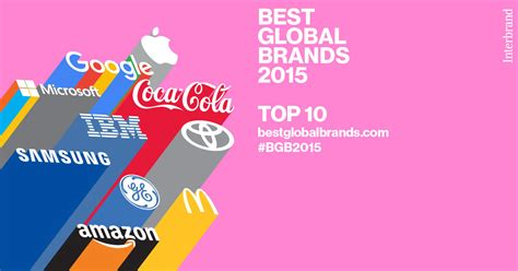 Best International Mba Programs 2015 by Five Debut In Top 100 Global Brands List
