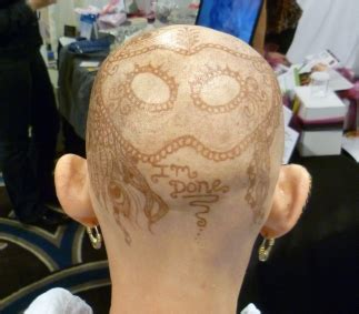 henna tattoo cancer bald is beautiful henna tattoos on cancer patients