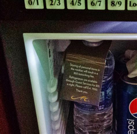 Personal Finance Advice 35 Outrageous Fees And How To Avoid Them by Storing Personal Items In The Hotel Minibar Could Cost You 50