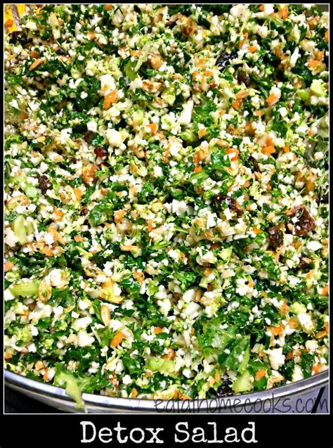 Detox Salad Maple Syrup Rice Vinegar by Detox Salad Of Green Leafy Veggies Eat At Home