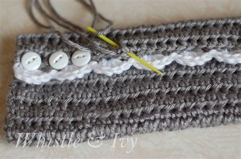 crochet archives whistle and ivy free crochet pattern vintage inspired arm warmers these