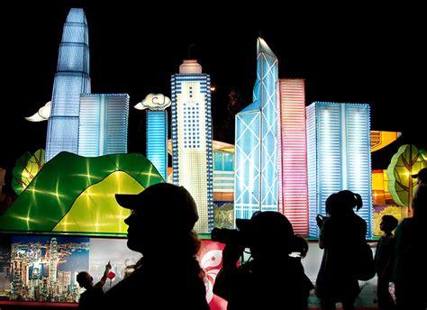 new year lantern festival hong kong lantern festival auckland daily photo