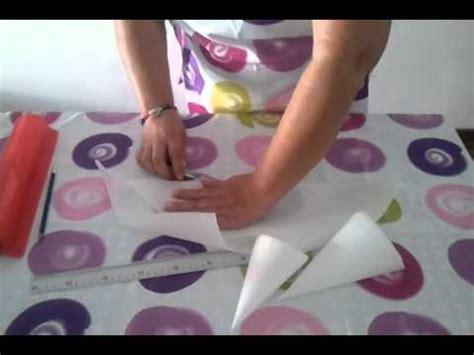 como hacer mangas de rumbero papel crepe como hacer una manga de papel youtube