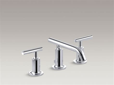 wide set bathroom faucets kohler coralais bathroom sink faucet