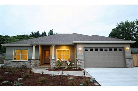 the caprica contemporary ranch house plan contemporary ranch style home plans