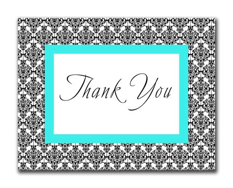 thank you card template free thank you card template free for card
