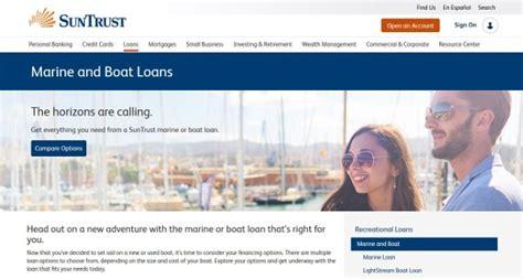 boat loans with no down payment suntrust bank boat loans review 2018 rates terms