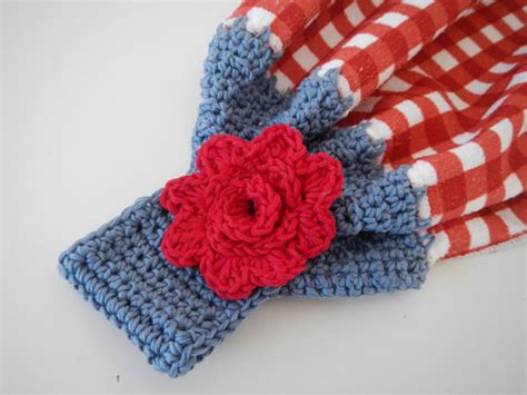 Crochet Kitchen Towel Topper by Dish Or Tea Towel Topper Crochet Pattern