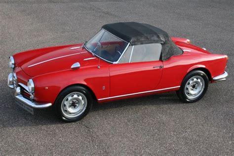 Alfa Romeo Giulietta Spider For Sale by 1961 Alfa Romeo Giulietta Spider Is Listed For Sale On