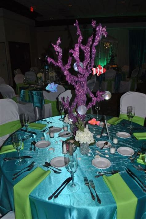 the sea centerpieces the sea sweet 16 centerpieces quotes