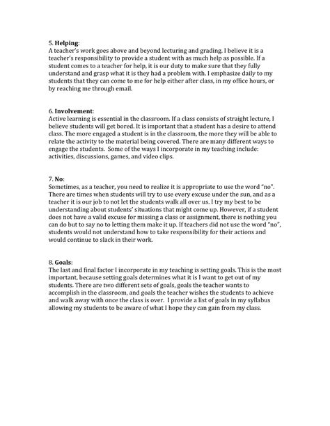Resume Sample In Word by Teaching Philosophy Brittany Nicole Case