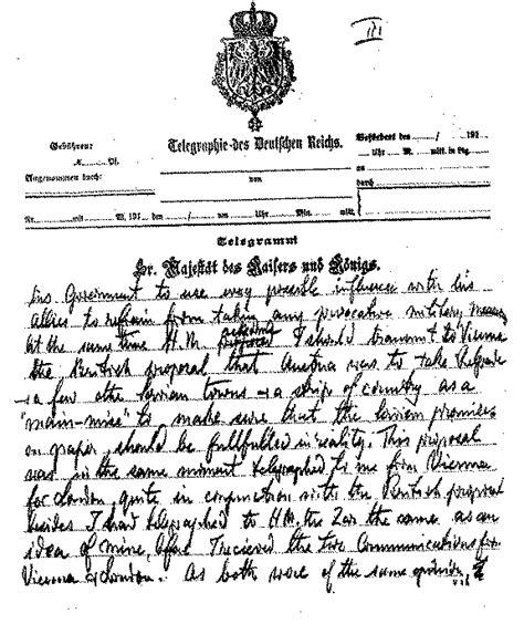 Kaiser Cancellation Letter Kaiser Wilhelm Letter To Woodrow Wilson Page 3