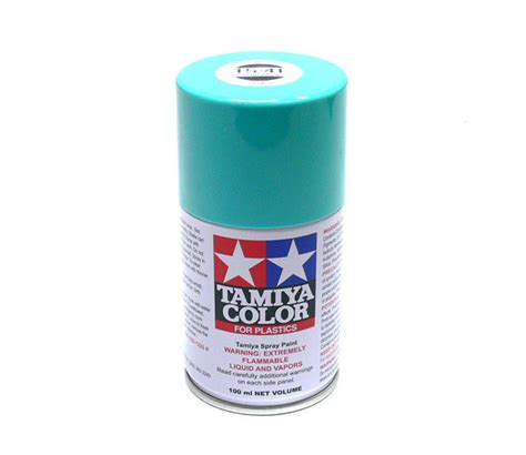 tamiya color spray paint ts 41 coral blue net 100ml for plastics 85041 models kits rcecho