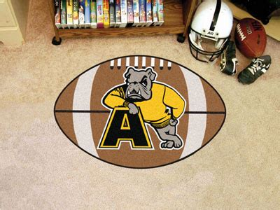 10 x32 area rug fanmats adrian football rug 20 5 quot x32 5 quot