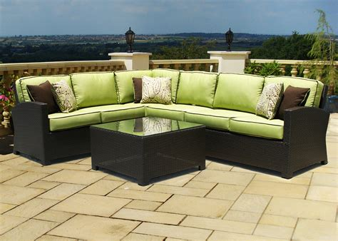 Wicker Outdoor by Outdoor Wicker Sectional Green The Best Way To Paint