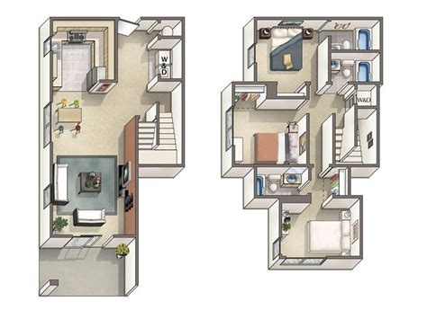 4 bedroom townhouse designs 17 best images about floor plans on pinterest arrow keys modular design and