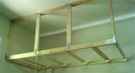 Overhead Garage Storage Diy by Diy Overhead Garage Storage