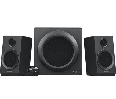 logitech z333 2 1 pc speaker system with subwoofer