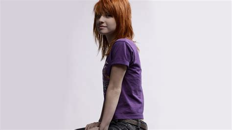 Tshirt Paramore Hayley Williams 02 wallpaper model t shirt simple
