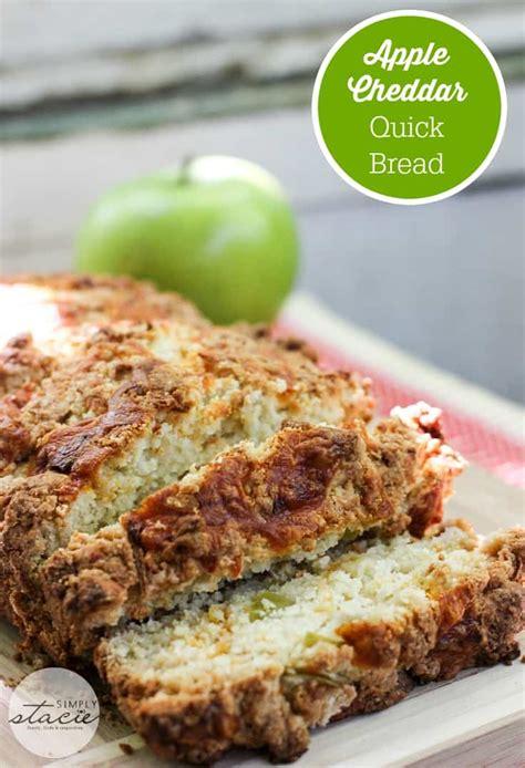 apple quick bread apple cheddar quick bread recipe simply stacie
