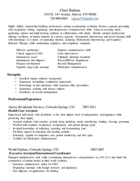 Resume Relationship Builder Cj Resume 2015 V2