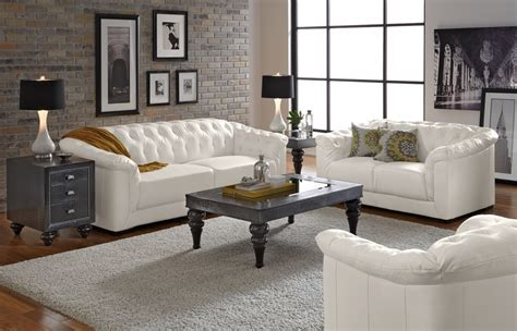 White Leather Sofa Living Room Ideas Living Room Excellent White Living Room Set Furniture