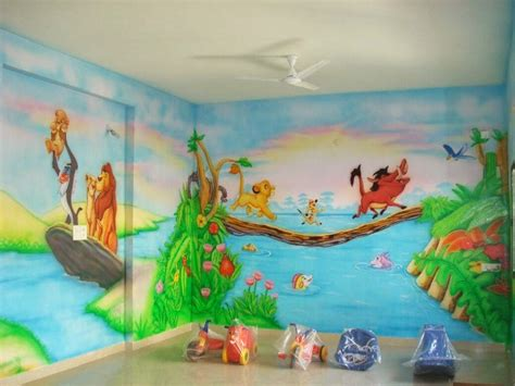 cartoon wall painting in bedroom play school wall painting march 2014