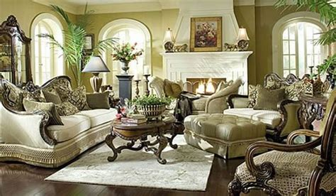 Old World Living Room Furniture | usher in old world charm with traditional living room