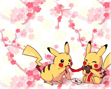pikachu valentines day lover pikachu by eternal s on deviantart