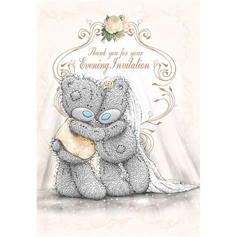 tatty teddy wedding evening invitations 84 best me to you wedding bears cards images on