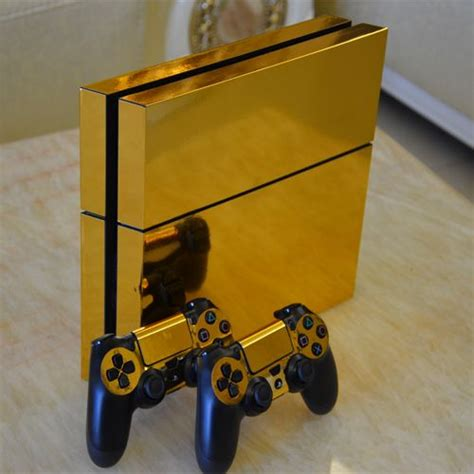 Ps4 Persona 5 Bonus Controller Skin Inside Premium B11 N460 sp gold glossy decal skin sticker for playstation 4 ps4 console controllers more ps4 skins
