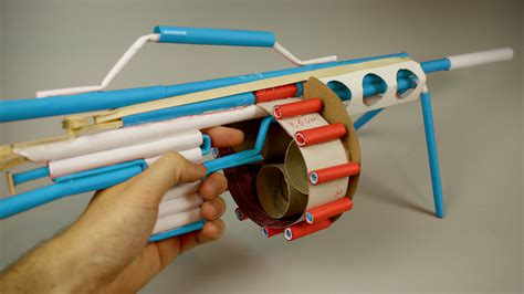 how to make a paper gun that shoots machine gun c 243 mo