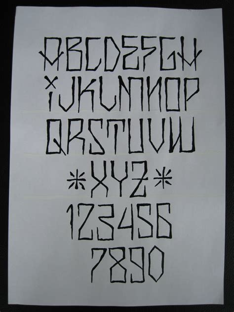 tattoo fonts urban gangsta graffiti letters gangster graffiti fonts