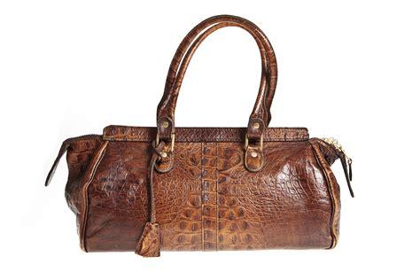 j m davidson embossed leather bag vintage shop in mykonos