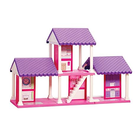 large plastic doll house american plastic toys 4 bedroom dollhouse playset dollhouse shop