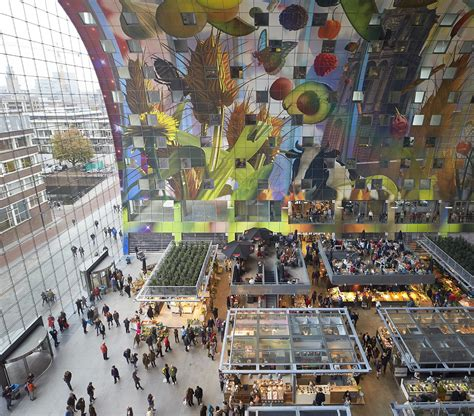 Next by Hufton Crow Projects Markthal Rotterdam
