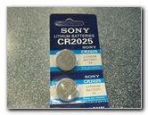 Baterai Sony Cr2025 bengkel sendiri january 2013