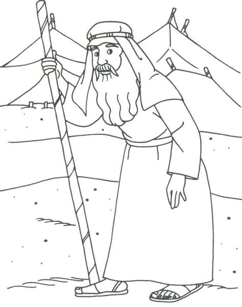 coloring page for abraham abraham abraham drawings