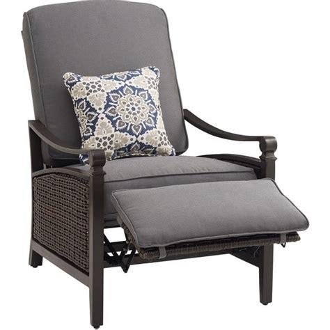 luxury garden recliner chairs la z boy carson ind blue aluminum fabric wicker luxury