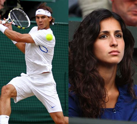 Wives and Girlfriends of Tennis Players Rafael Nadal