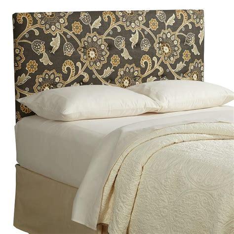 floral headboard com humble haute parson floral linen tufted