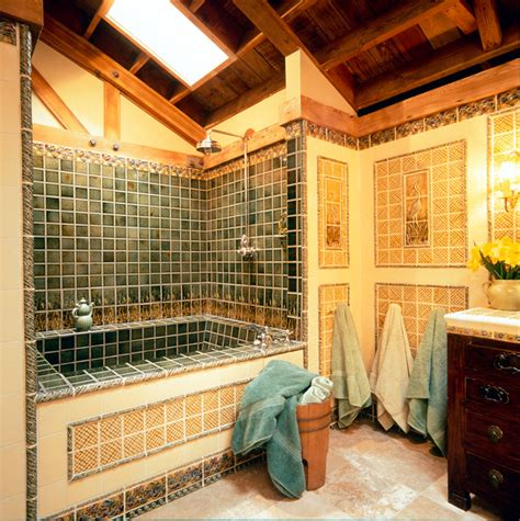 Craftsman Bathroom Tile by Craftsman Style Craftsman Bathroom Portland By