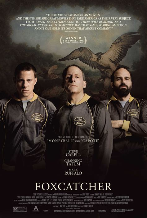 foxcatcher sony pictures classics intense new poster for bennett miller s foxcatcher