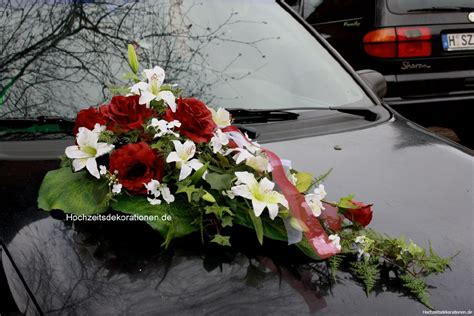 autoschmuck hochzeit modern autoschmuck lilien modern autoschmuck lilien modern